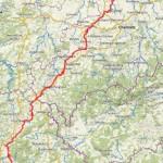 von Bayern bis ca. Chemnitz