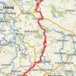 Leipzig Ecke bis Elbe